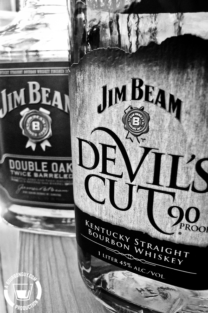 Bottom-Shelf Bourbon Brackets 2017, Round 1, Jim Beam Double Oak vs Jim Beam Devil's Cut