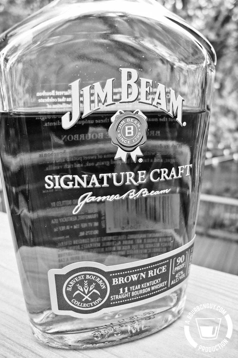 Jim Beam Signature Craft: Brown Rice