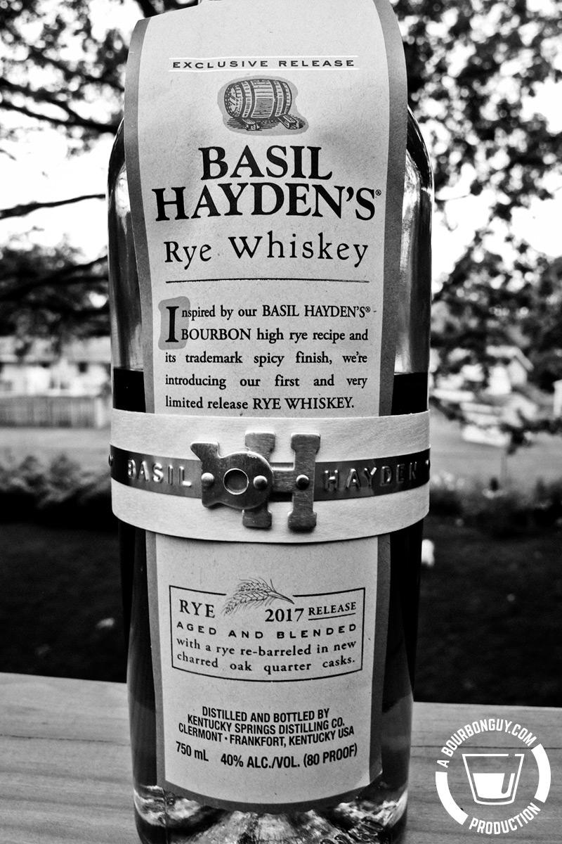 Basil Hayden's Rye Whiskey