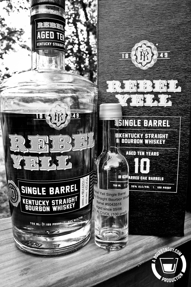 Rebel Yell Single Barrel, 10-Year-Old Bourbon