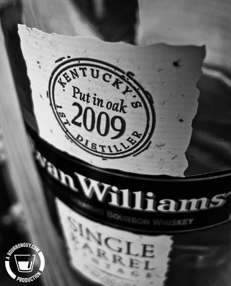 Evan Williams Single Barrel, 2009 Vintage