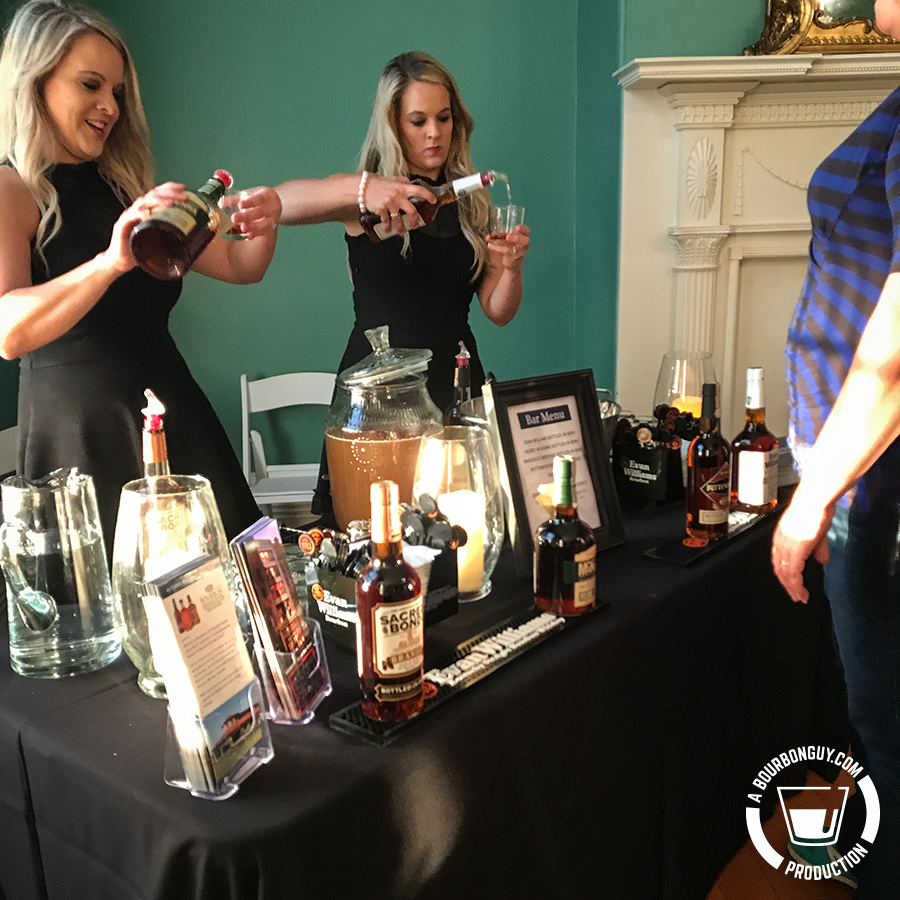 Heaven Hill table at Bottled in Bond Fire
