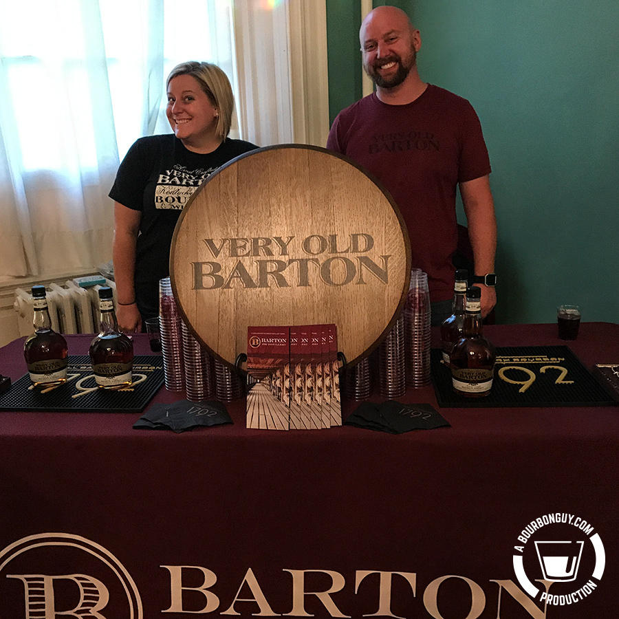Barton table at Bottled in Bond Fire