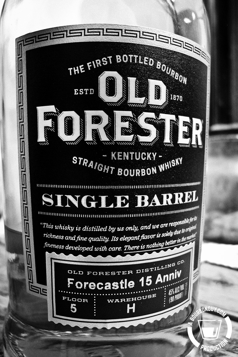 Old Forester Single Barrel