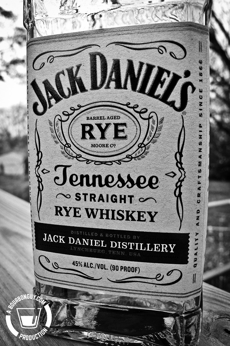Jack Daniel's Tennessee Straight Rye Whiskey
