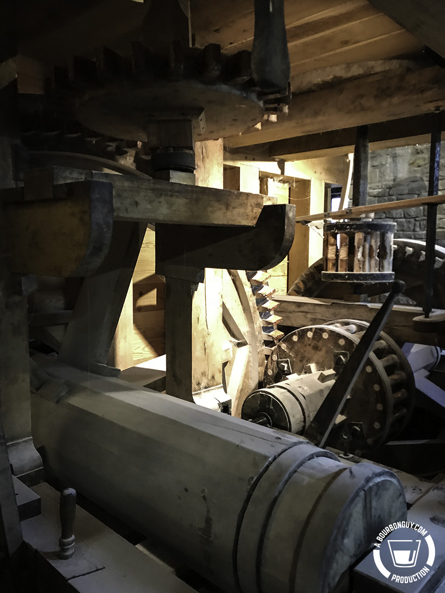 Another view of the mill gears