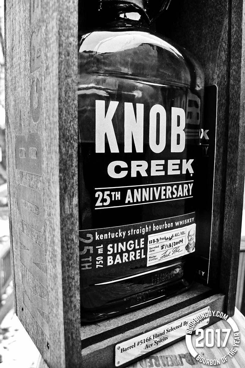 Knob Creek 25th Anniversary from Ace Spirits