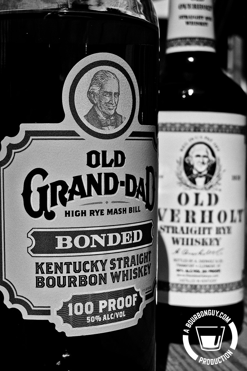 Old Grand Dad Bonded vs Old Overholt