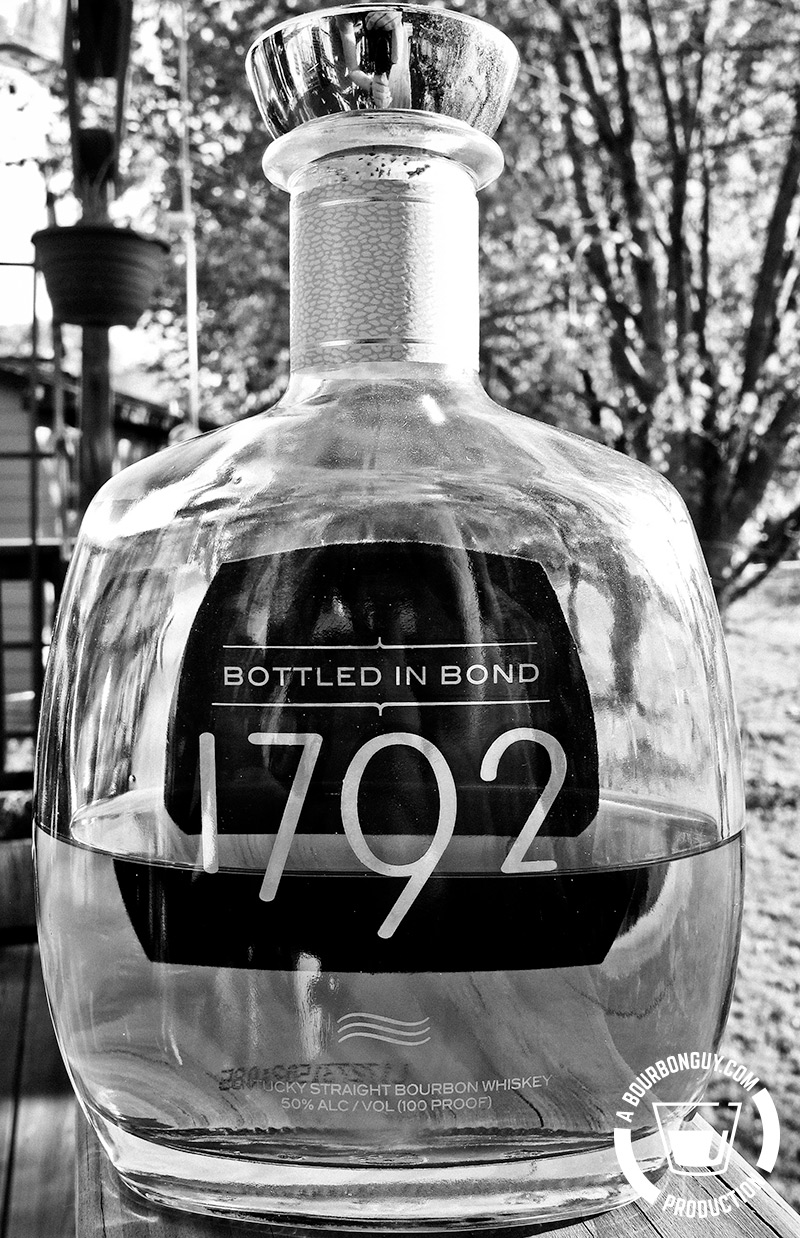 Image: Front view of a bottle of 1792 Bottled in Bond Limited Edition Bourbon