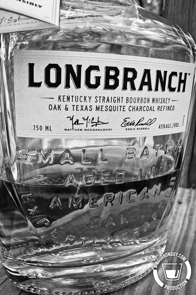 IMAGE: a close up of the Wild Turkey Longbranch Label