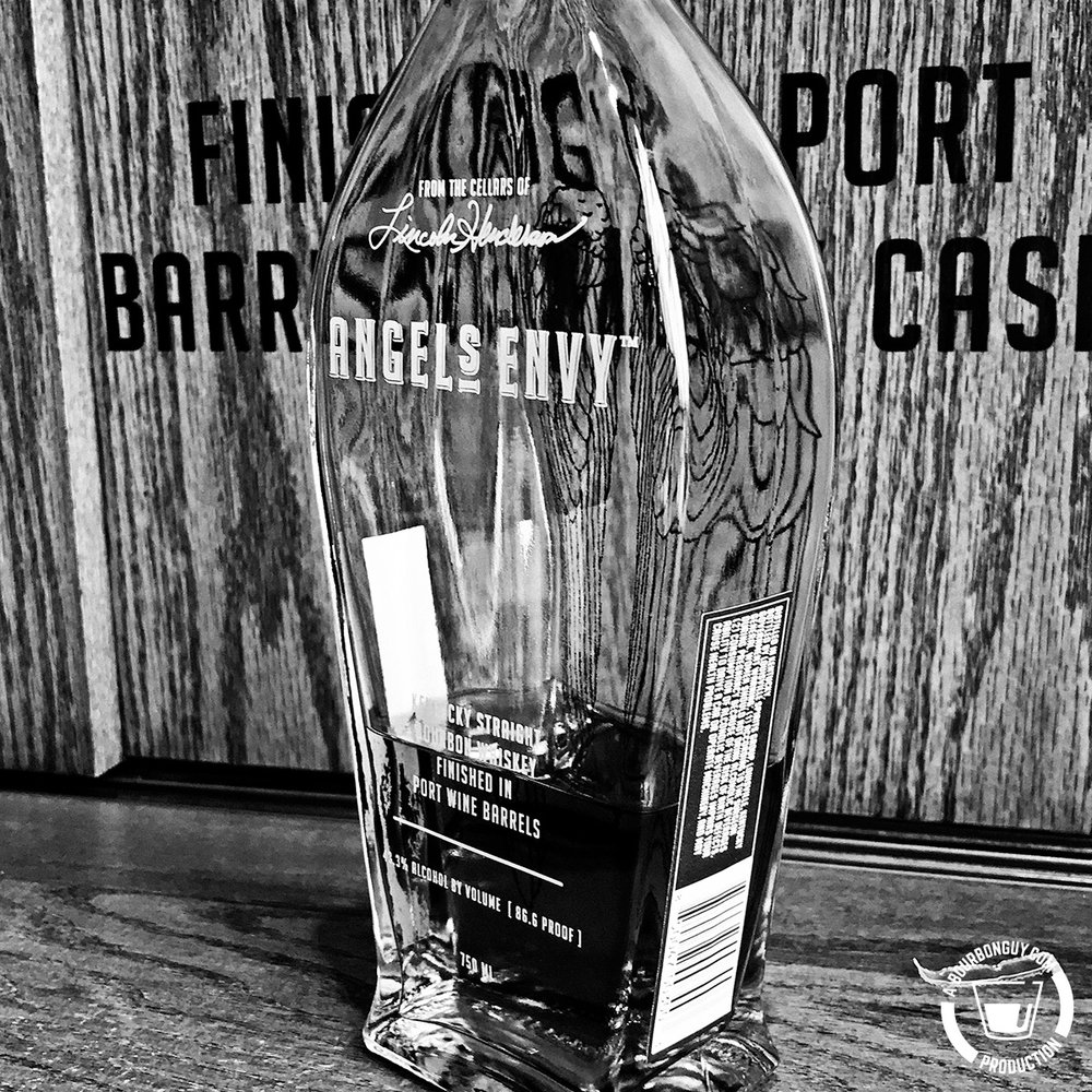 IMAGE: A bottle of Angel's Envy Bourbon