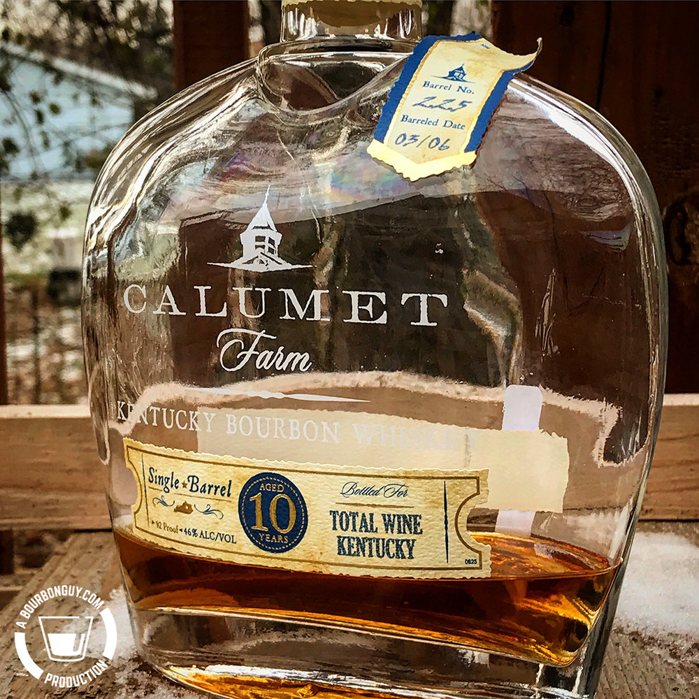 IMAGE: Calumet Farms, Private Single Barrel Selection for Total Wine Kentucky.