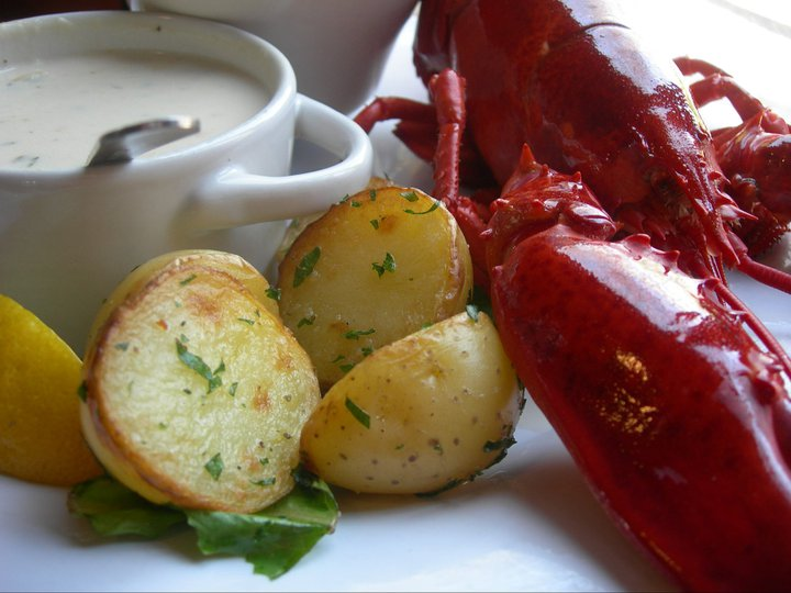 Boiled Lobster Dinner