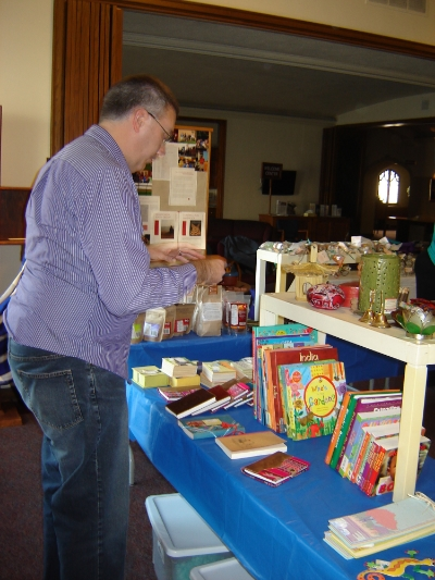 During the Advent season St. John's hosts a Fair Trade Fair.