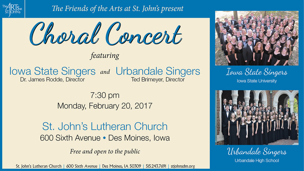 Performing Arts Series — St  John's Lutheran Church