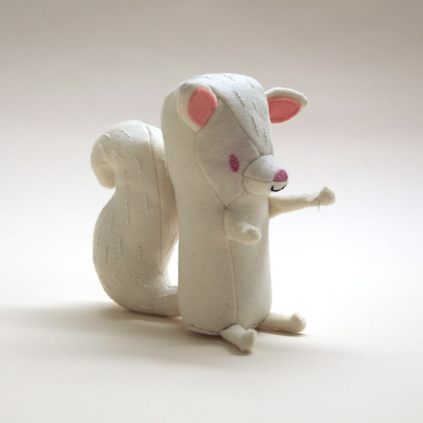 This is another version of the white squirrel.