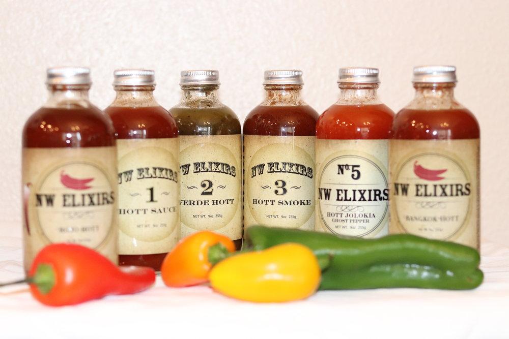 NW Elixirs, Chef Andrew Garrett