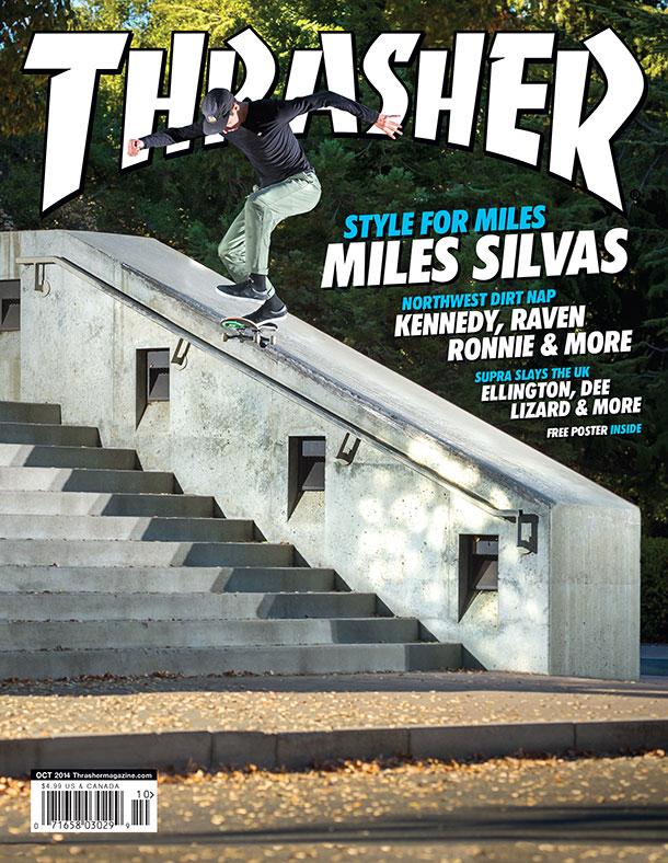 Thrasher Miles Silvas