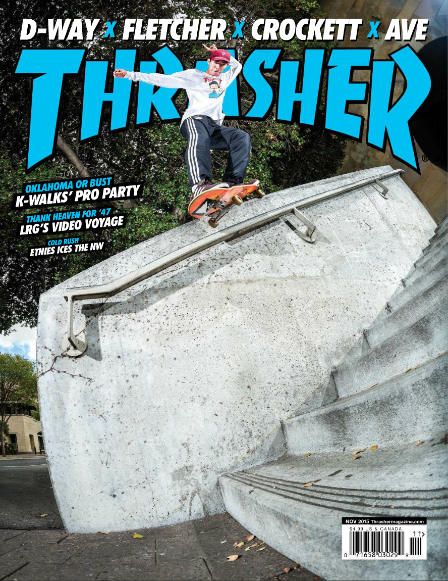 Thrasher Nov 2015 Cover