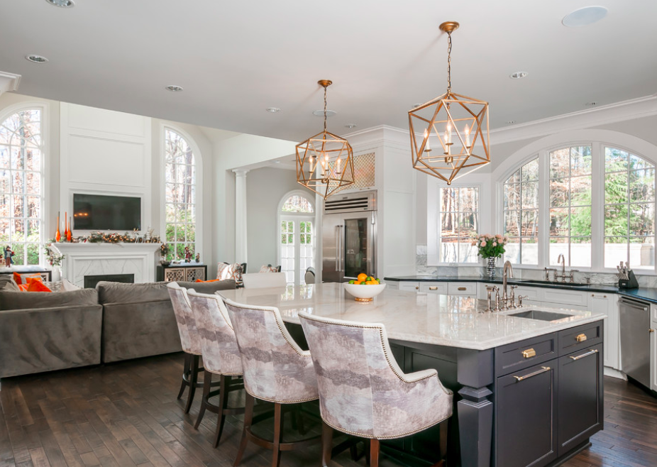 A Beautifully Fresh Kitchen in Atlanta -