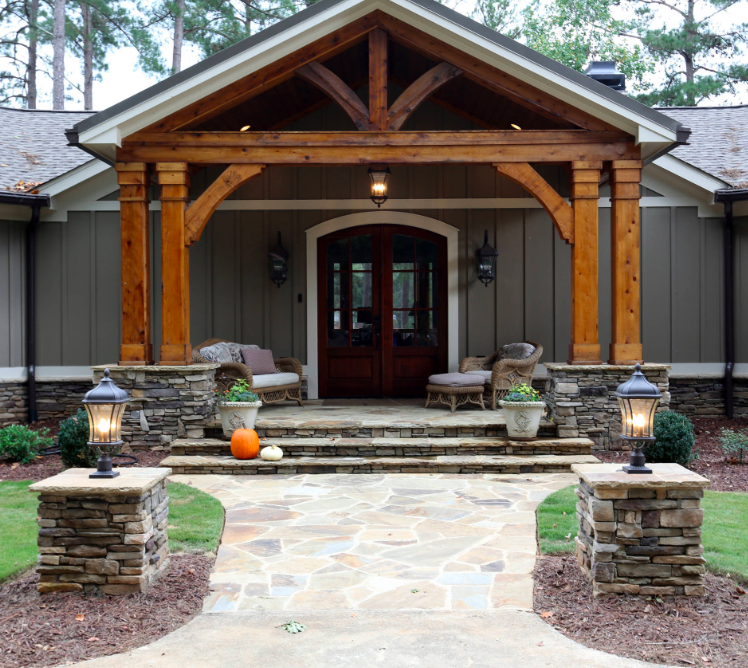 A lake house renovation in Georgia -