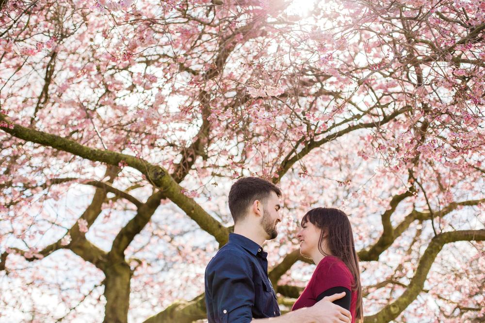 Sophie Evans Photography, Alice & Nathanael Botanical Gardens Engagement Shoot. Warwickshire Wedding Photographer (8).jpg