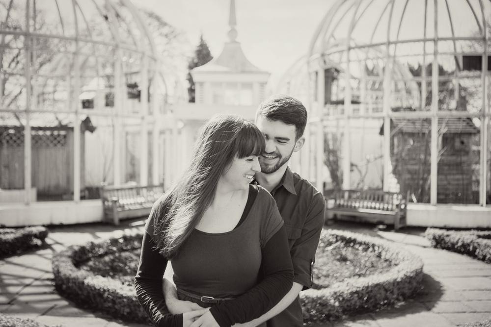 Sophie Evans Photography, Alice & Nathanael Botanical Gardens Engagement Shoot. Warwickshire Wedding Photographer (9).jpg