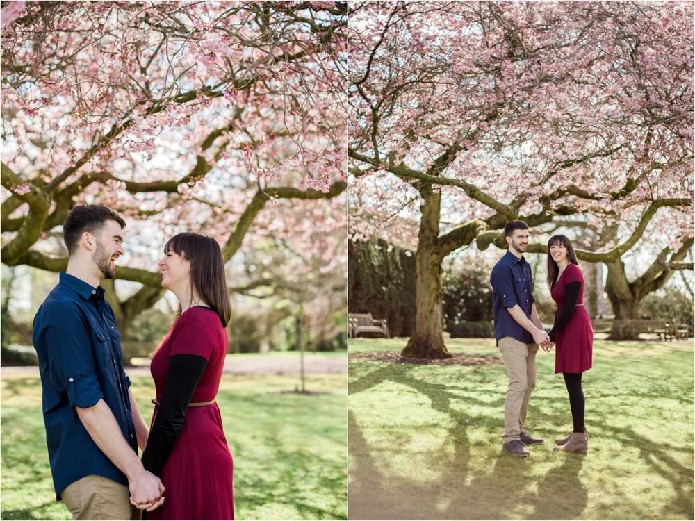 Sophie Evans Photography, Alice & Nathanael Botanical Gardens Engagement Shoot. Warwickshire Wedding Photographer (7).jpg