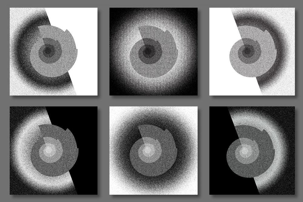 "Birth / Death • 36"" x 36"" Giclee Print • Versions I - VI"