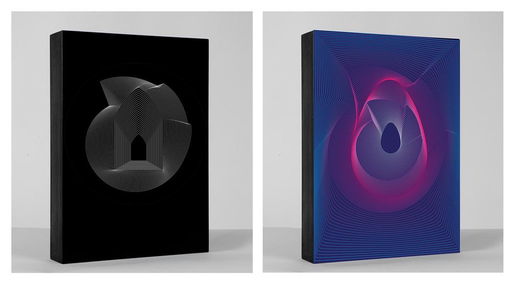 "Birth / Death • 24"" x 36"" Giclee Print • Versions X - XI"