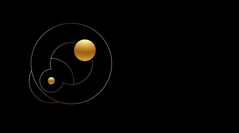 "Orbits  • 36"" x 48"" Giclee Print • Version I"