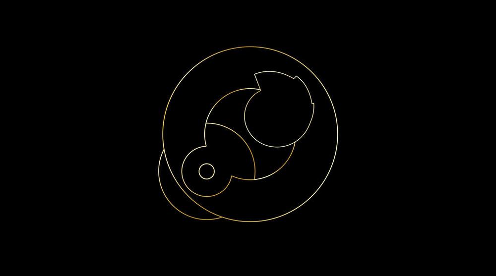 "Orbits  • 36"" x 48"" Giclee Print • Version III"