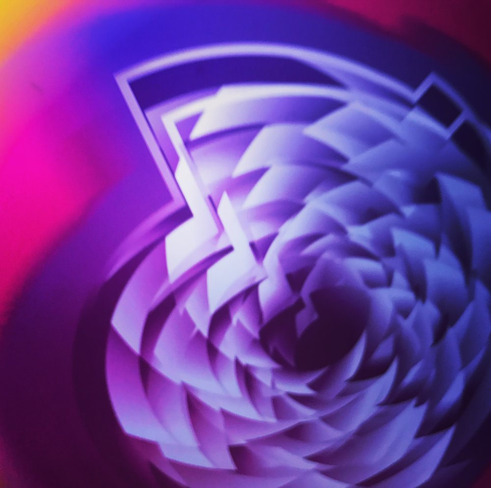 """Rite of Spring series  • Flower • Version II • 12"""" x12"""" • Paper print"""
