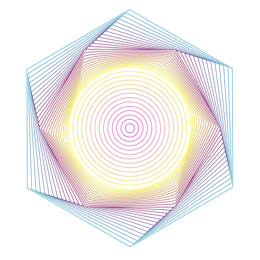 "Orbits  • 18"" x 24"" Giclee Print • Version XXII"