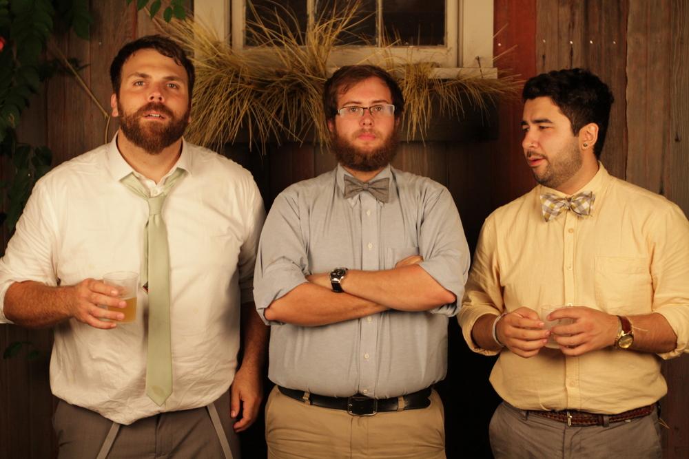 Kevin Romeo, Dan Baker and Nick Benitez.   Director, Editor, Editor.