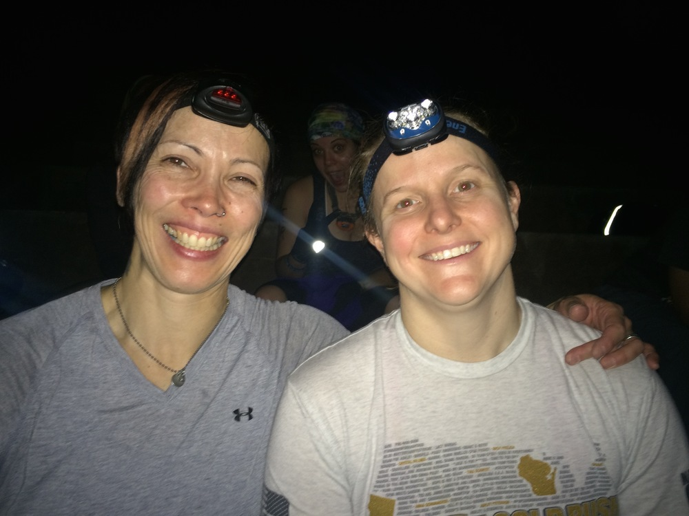 Me and Barb at the start of the Miami all-female Goruck Challenge on November 14
