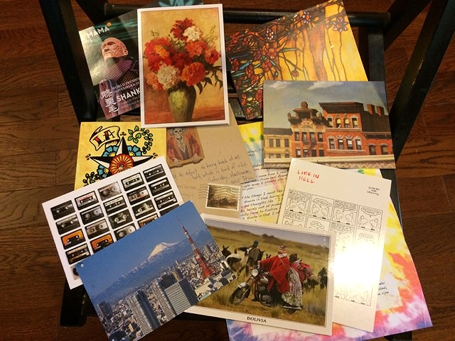 A great batch of letters I've received so far this fall...
