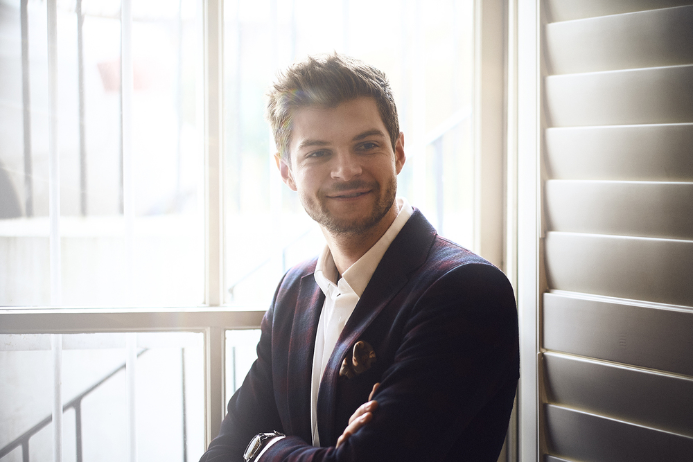 Youtube & Fashion Icon Jim Chapman, for D'Marge