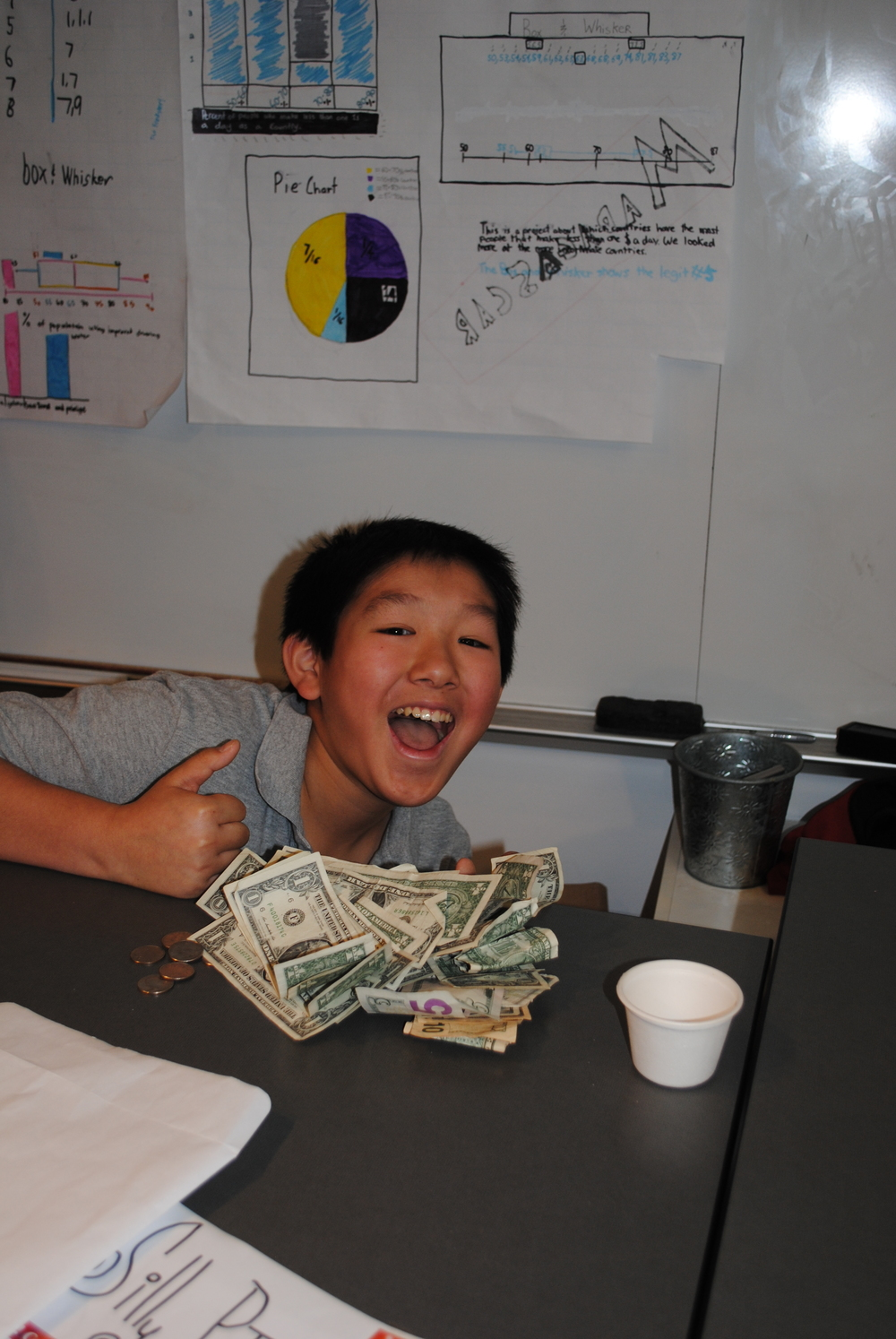 """""""All you really have to do is know your customer and sell your product"""" -Jack L 6th grader"""