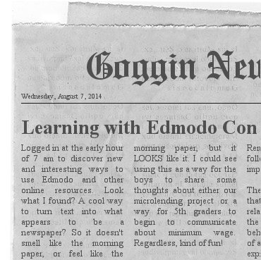 Extra Extra Read All About It! EdmodoCon