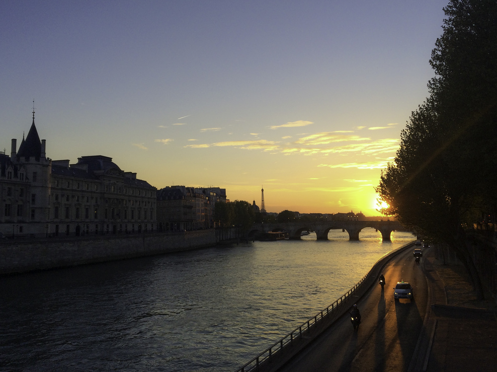 Paris in the Springtime - an amazing view with even better company!