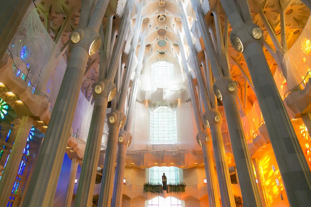 La Sagrada Familia in Barcelona is truly a stunning experience