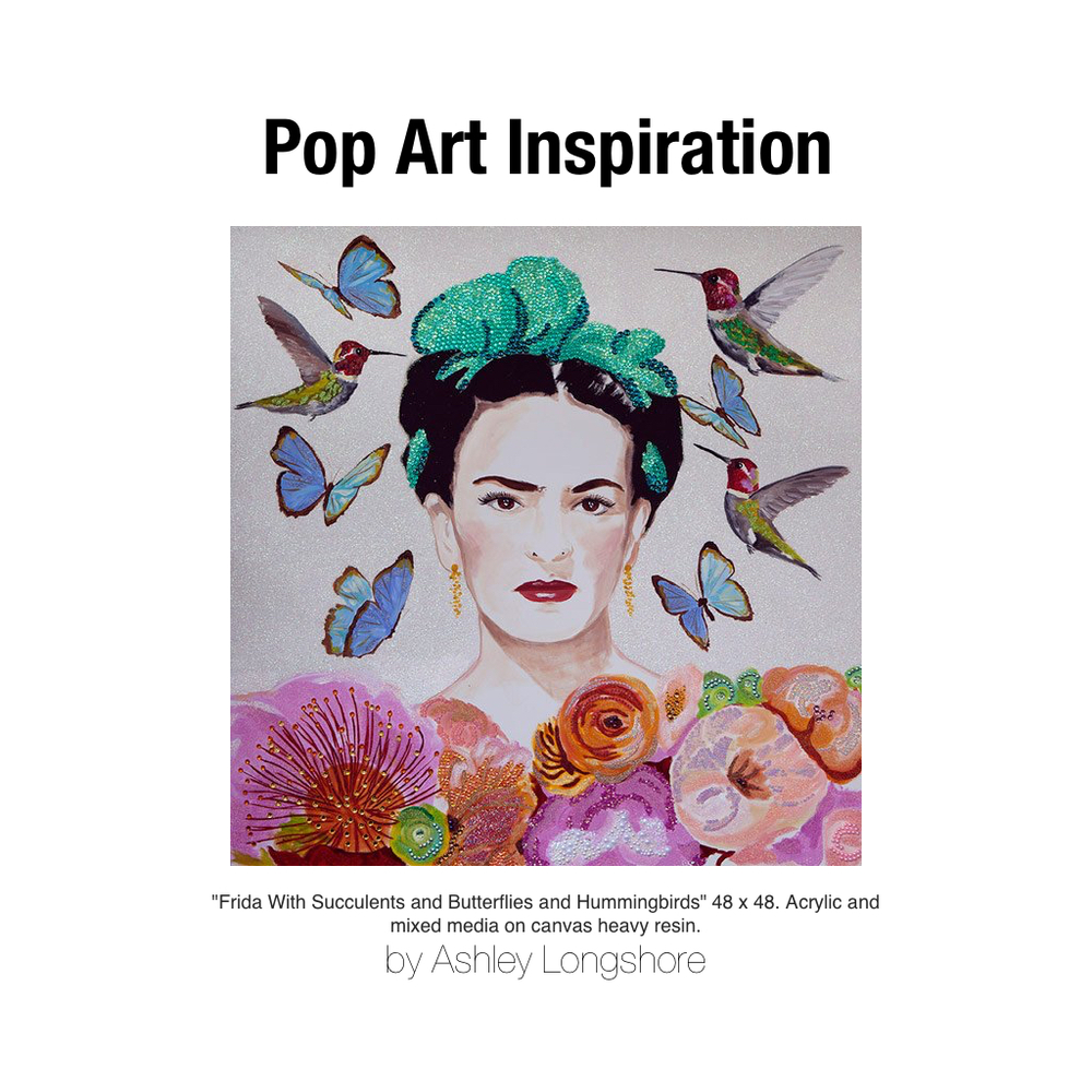 Ashley-Longshort-Pop-Art-Frida-Kahlo
