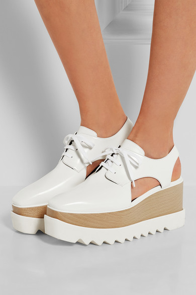 Stella McCartney platform brogues  ($995) (affordable version available at Zara)