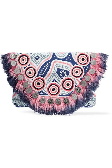 Antik Batik clutch  ($135)