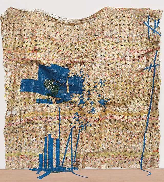 El Anatsui #favoriteartist #genius #sculptor #ghanaian #africa #art #elanatsuiart