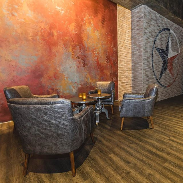 Recently completed venue space by NKI #livenation #reventionmusiccenter #venuespace #interiordesign #bar #nickykaplaninteriors #hospitalitydesign