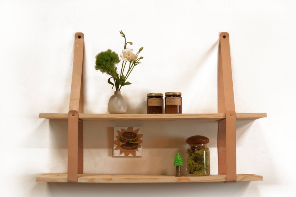 Leather Strap Shelf — 1.61 Soft Goods