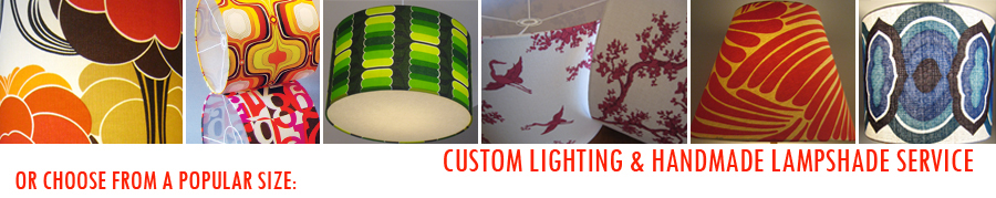 Lampshades graham graham design handmade lampshades lighting we have a in house affordable custom made lamp shade service lamp base or ceiling hung where you can order from a range of tapered or drum shades aloadofball Choice Image