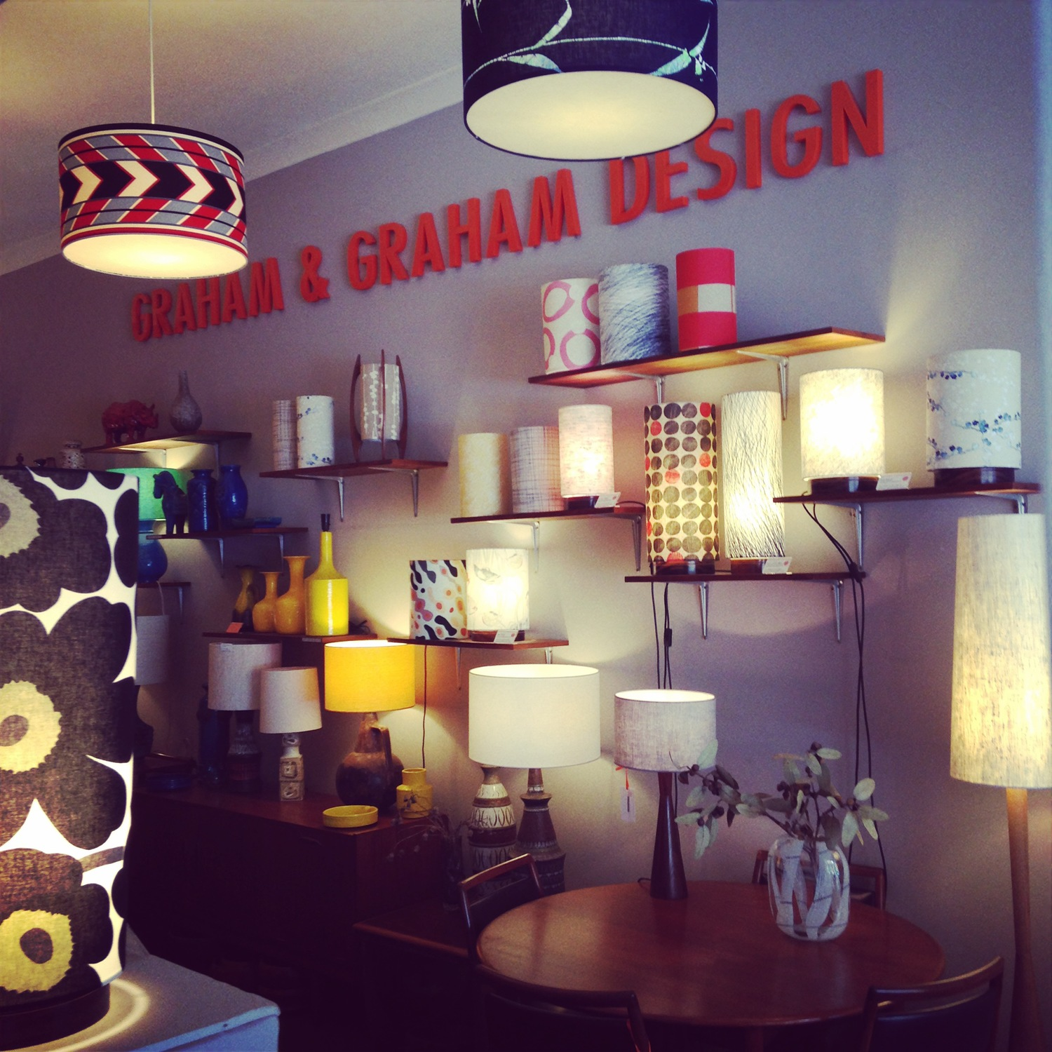 GRAHAM & GRAHAM DESIGN Handmade Lampshades & Lighting Sydney